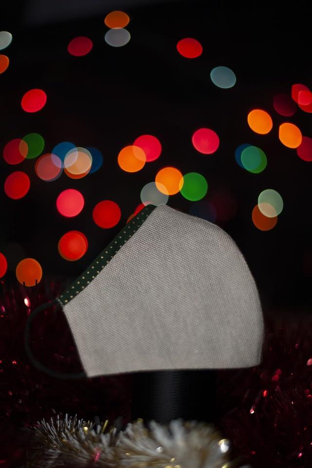 mascarilla navidad