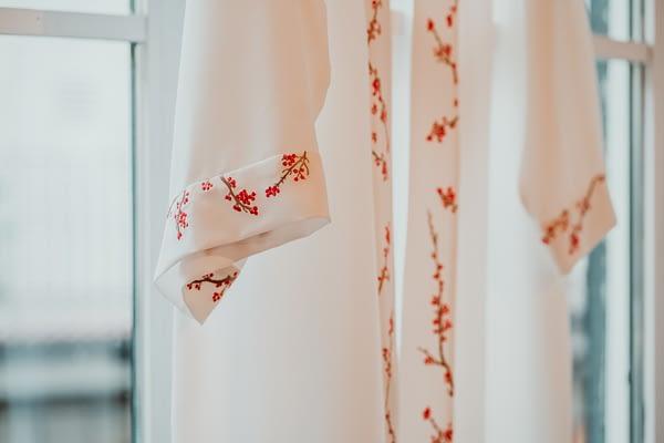 kimono novia