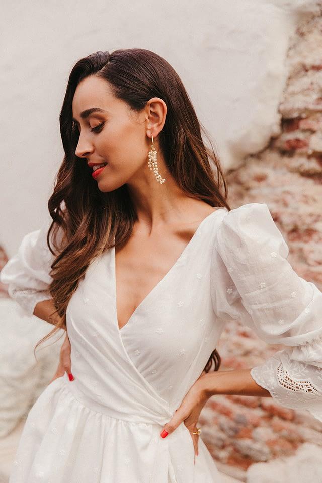 vestidos de novia modernos atelier madrid elegante chic lamarye lara onac photography