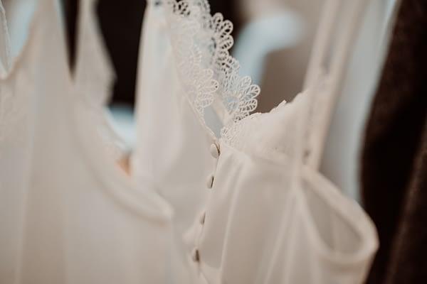 camisón para novia corto